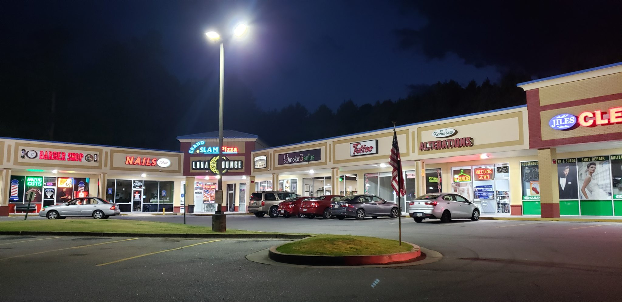kennesaw ga jiles road shopping center space