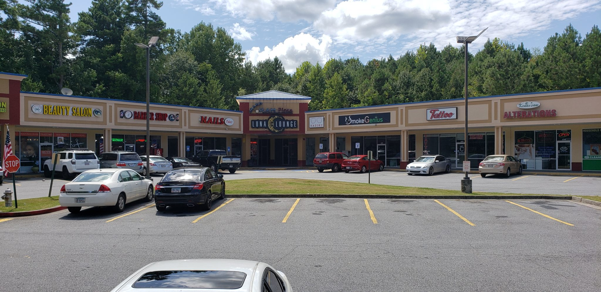 shopping center with space available cobb county kennesaw ga